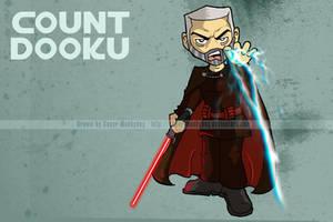 SW Chibis - Count Dooku by happymonkeyshoes