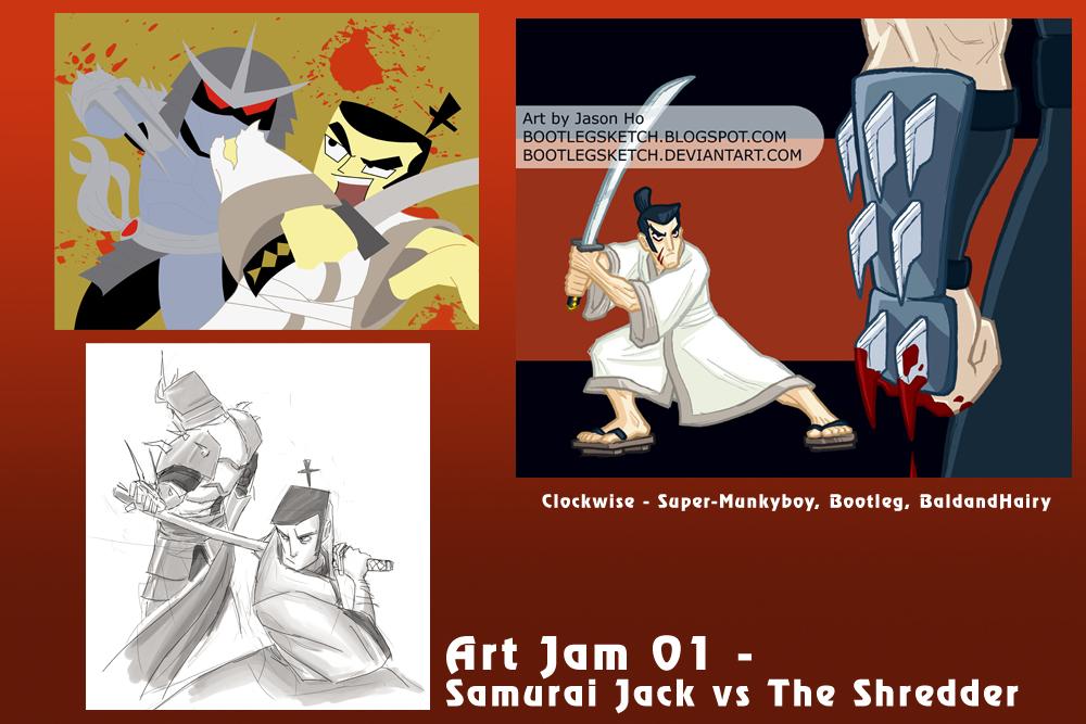 Art Jam 01 Results by happymonkeyshoes