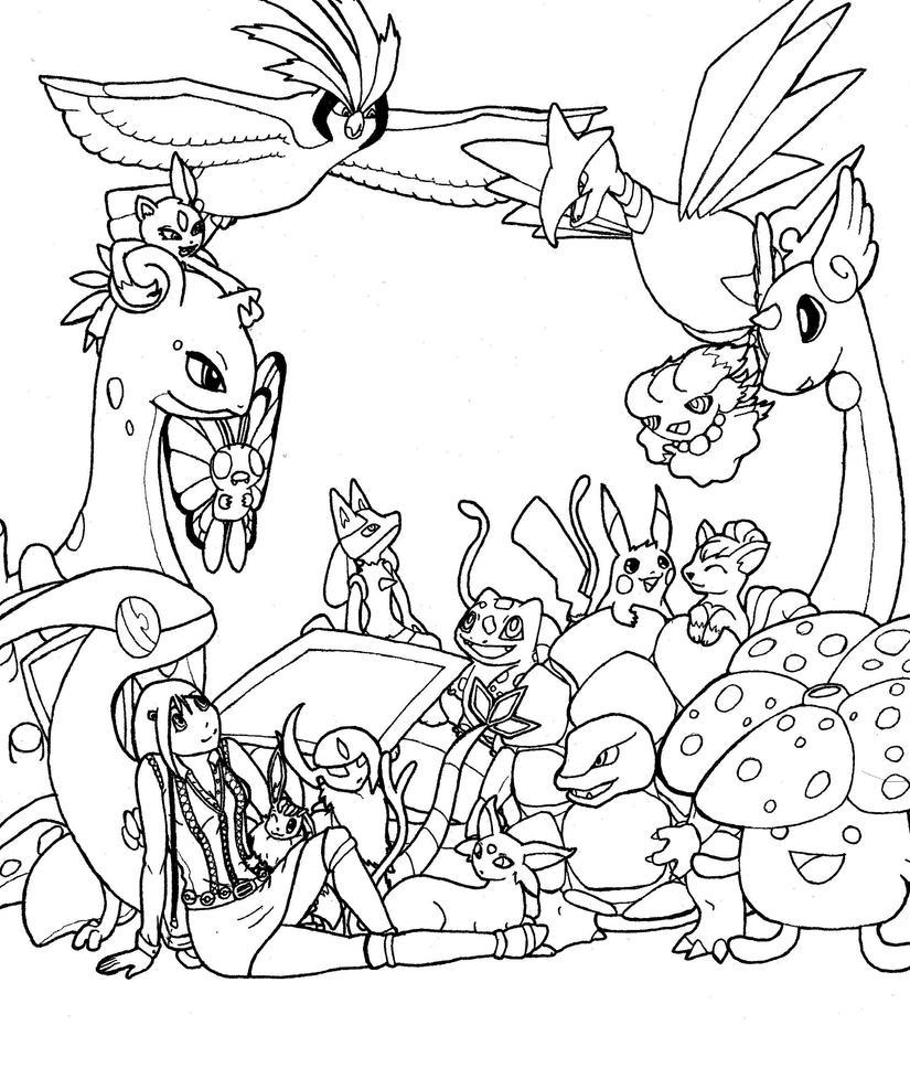 favorite pokemon of each typelainabear on deviantart