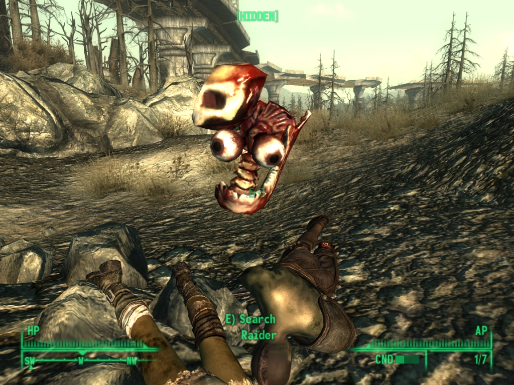 Fallout 3 - Funny Glitch by Half-dude