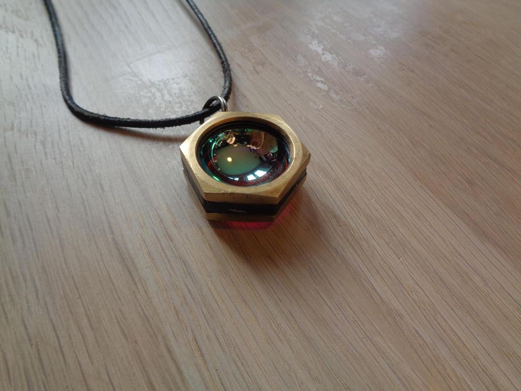 Hexagon medallion by Ronald-Martha