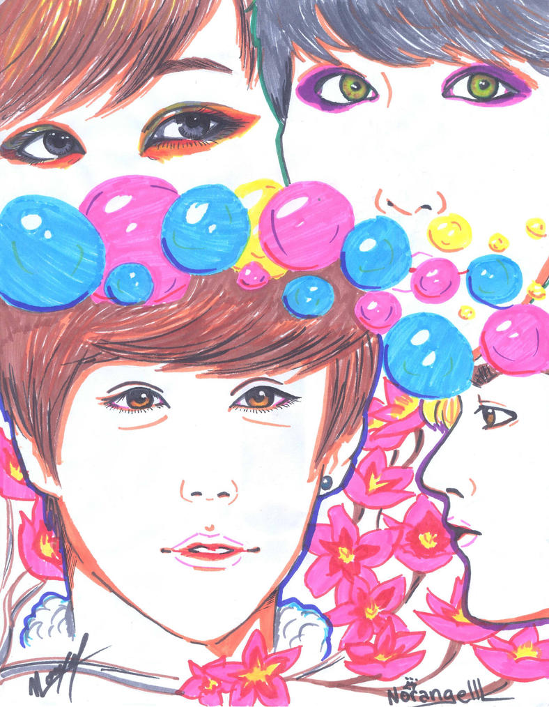 Exo Illustration by norangelll