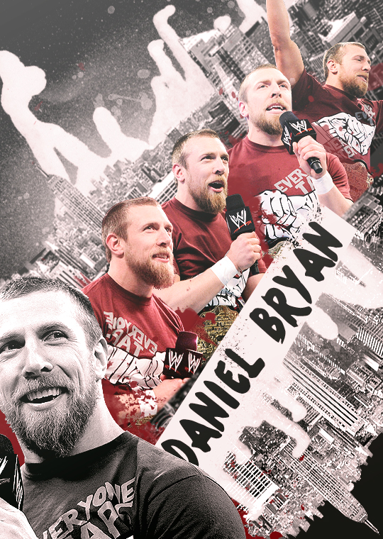 Daniel Bryan Poster by findmyart
