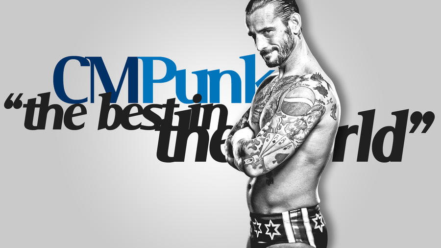 Cm punk (txt.V) by findmyart
