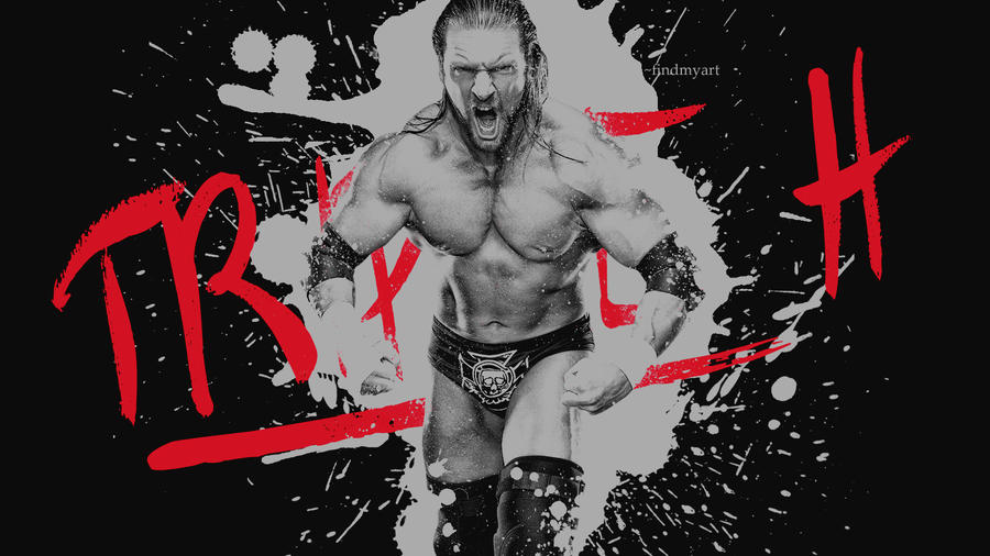 Triple H Ink - Wallpaper by findmyart