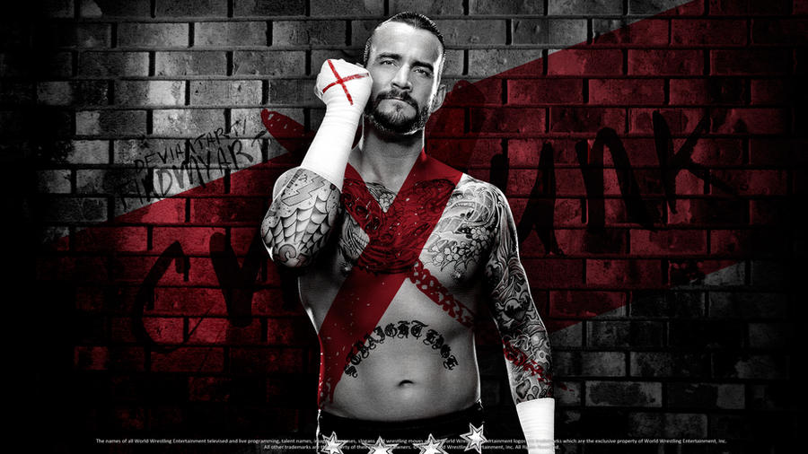 Cm punk - Wallpaper by findmyart