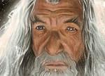 Gandalf sketch card