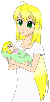 Mother and Baby Lisa