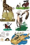 SnK--Animals Sketchdump