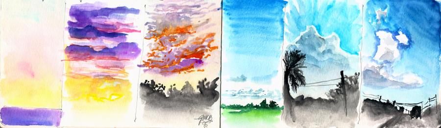 Cloud Study by Glorielfwings