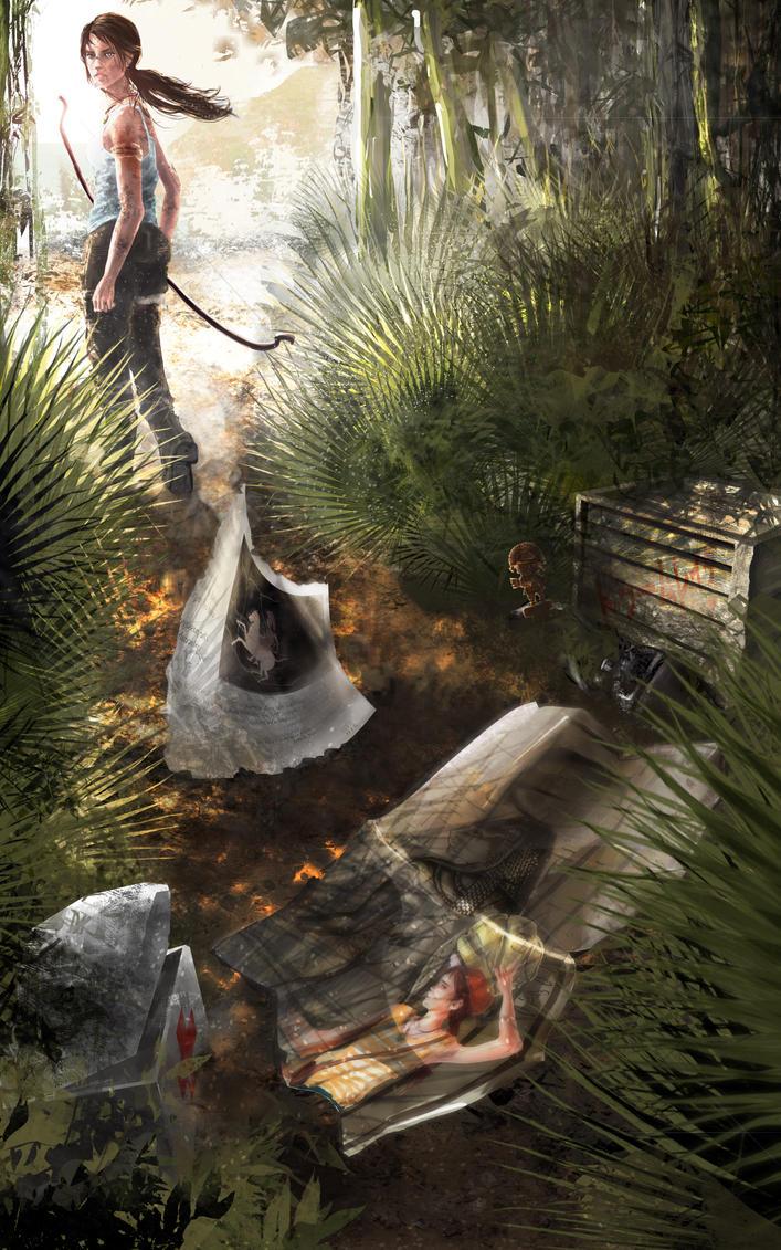 Lara Croft: By Dawn's Early Light by Glorielfwings