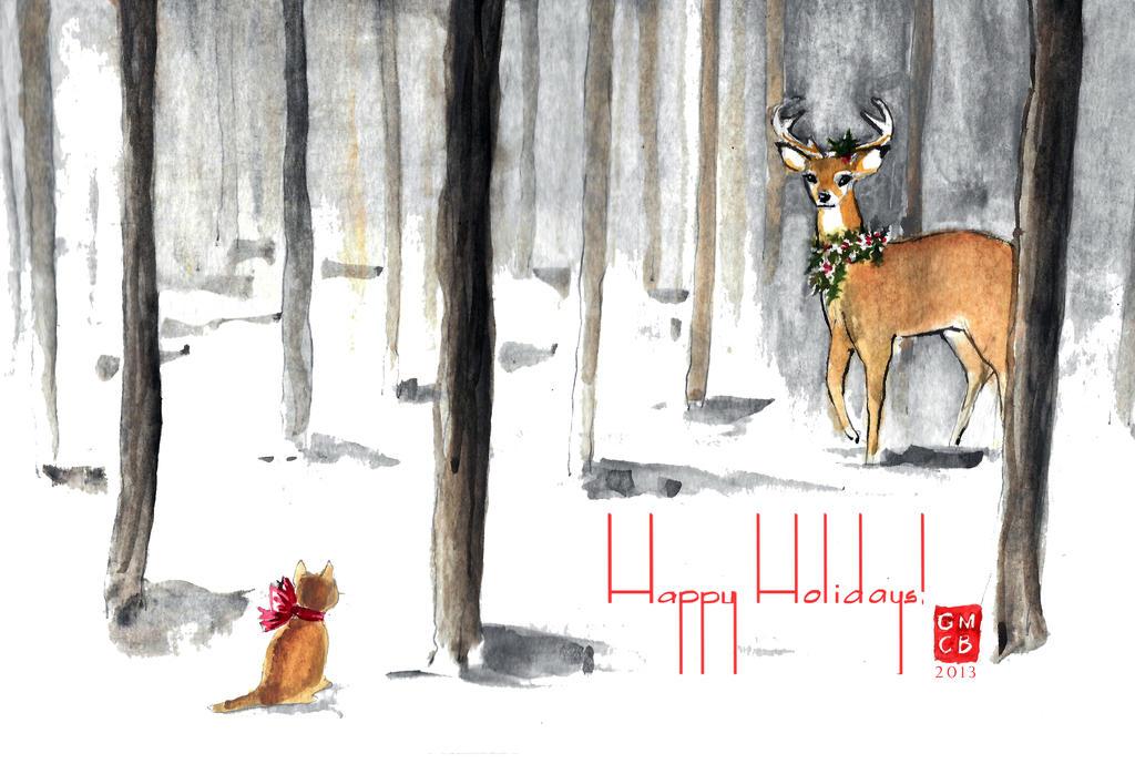 Navidad 2013 by Glorielfwings