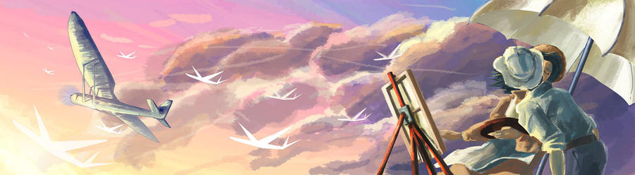 Floating Dreams by Glorielfwings