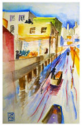 River Market by ArtbyGloriaColom
