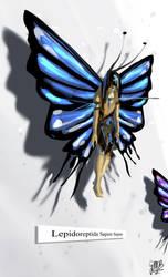2014.04.27-Butterfly man by ArtbyGloriaColom