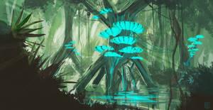 Mushroom City concept