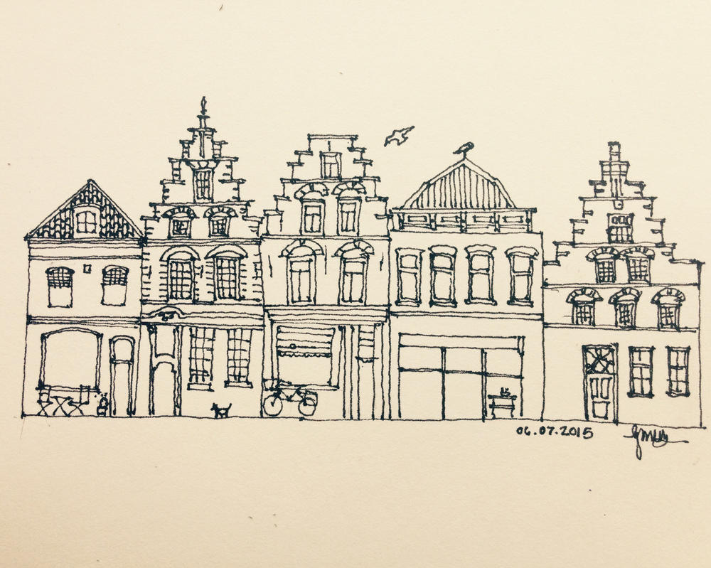 Haarlem, The Netherlands by ArtbyGloriaColom
