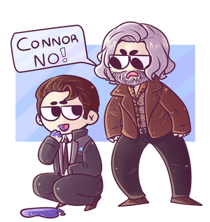 Detroit Become Human - CONNOR NO