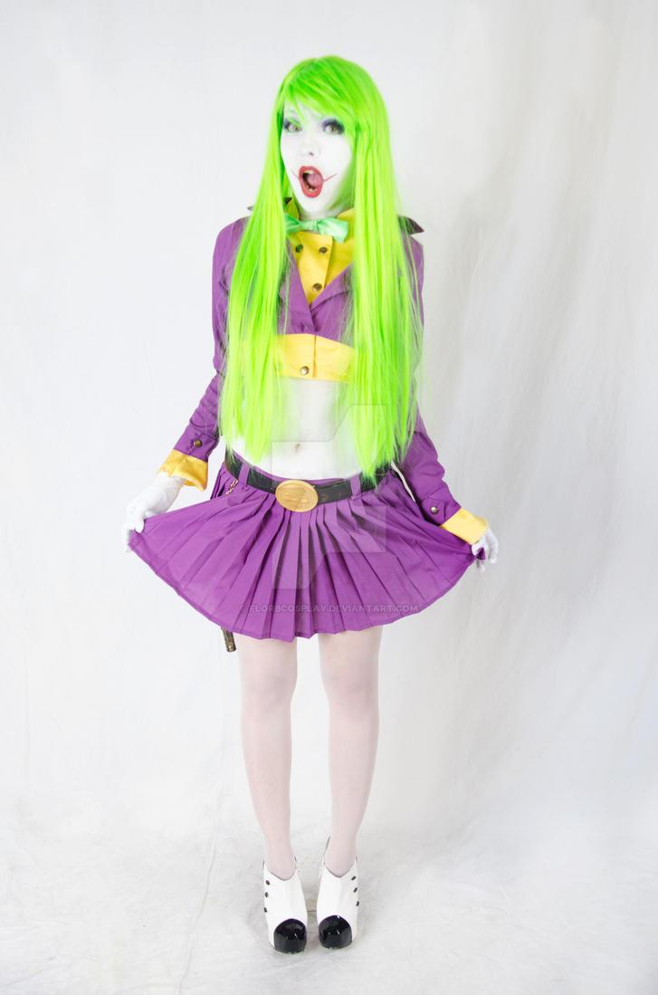 Lady Joker III - Cosplay Batman by FlorBcosplay