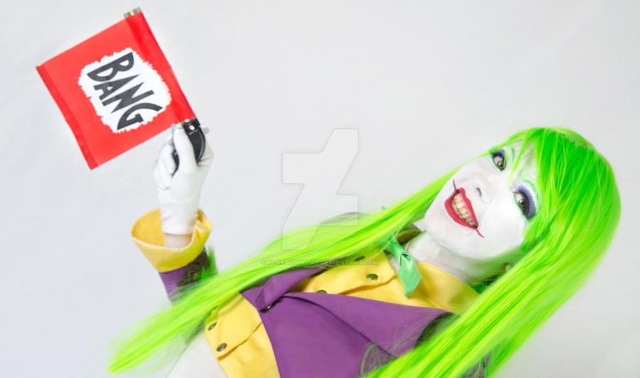 Lady Joker VI - Cosplay Batman by FlorBcosplay