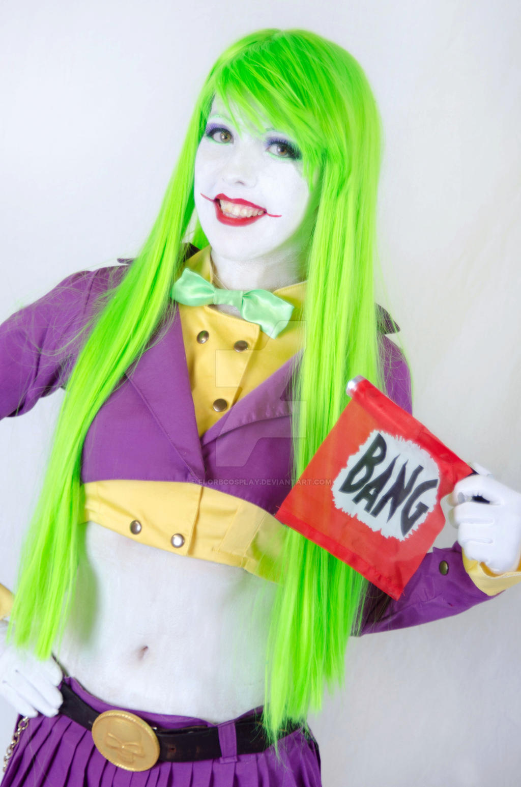 Lady Joker VII - Cosplay Batman by FlorBcosplay