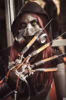 Scarecrow - Batman: Arkham Asylum I by FlorBcosplay