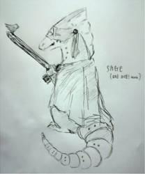Sage Sketch! by stareorini
