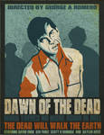 Dawn of the dead vector poster