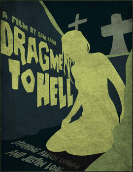 Drag me to hell Vector poster