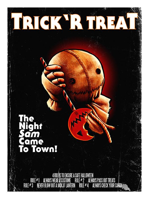Trick 'r Treat Halloween Poster