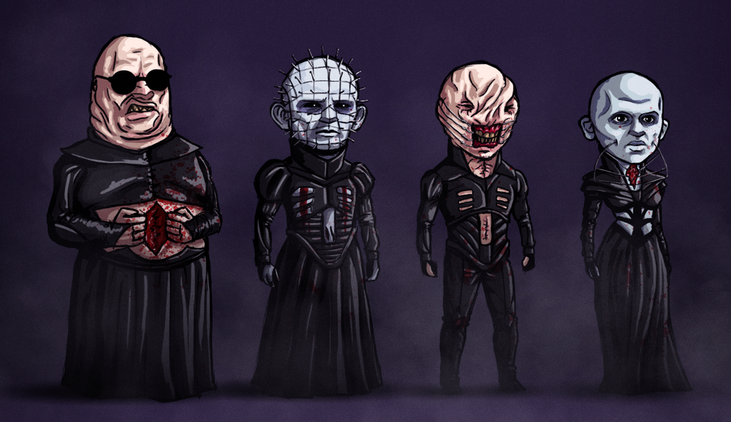 the cenobites by samraw08 on deviantart