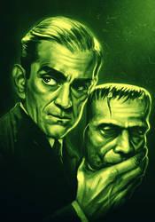 Boris Karloff by SamRAW08