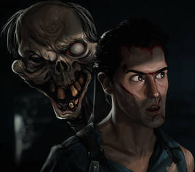 Evil Dead 2 - Ash by SamRAW08
