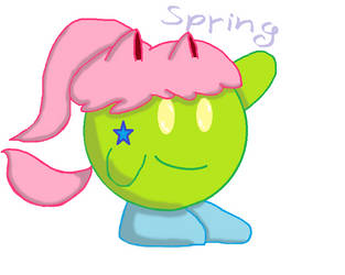 my Kirby oc Spring by peachyqueen8