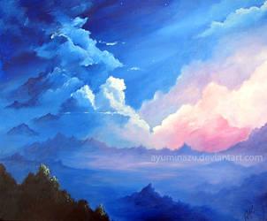 Happy Clouds in Romantic Skies by AyumiNazu