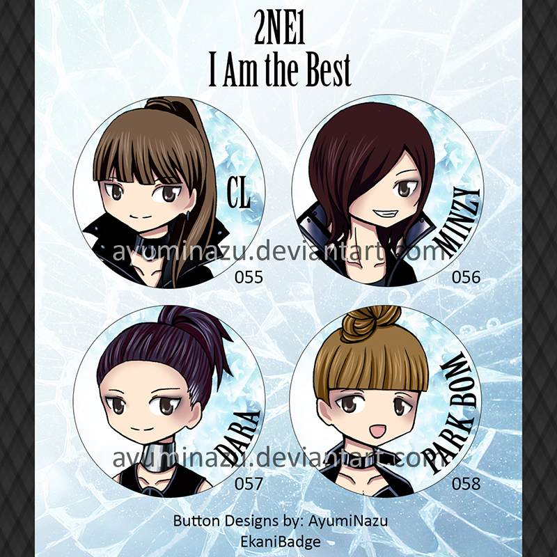 EkaniBadge: 2NE1 by AyumiNazu