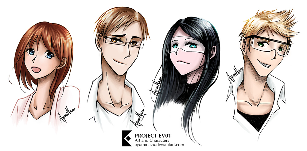 Personalities by AyumiNazu