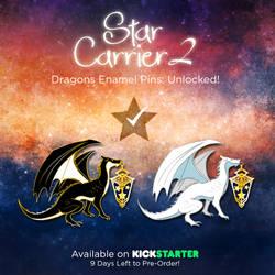 Dragon Star Carrier Pins by AyumiNazu