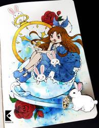 Ayumi in Wonderland by AyumiNazu