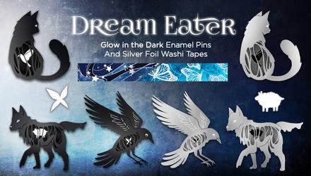 Dream Eater Enamel Pin Kickstarter
