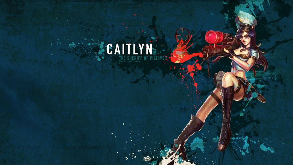 Caitlyn Wallpaper - League of Legends by crazystars101 on ...