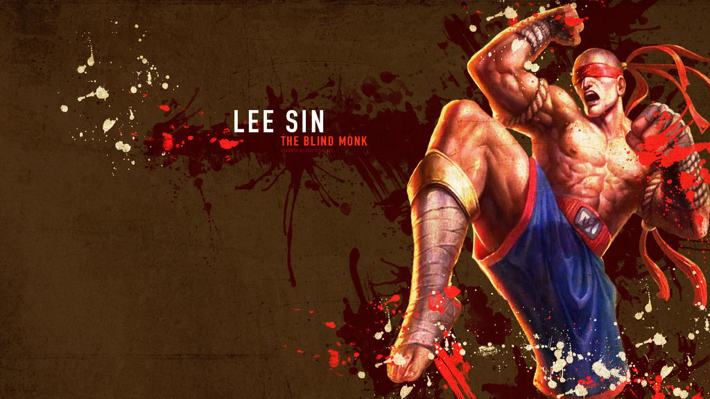 Lee Sin Wallpaper - League of Legends by crazystars101 on ...