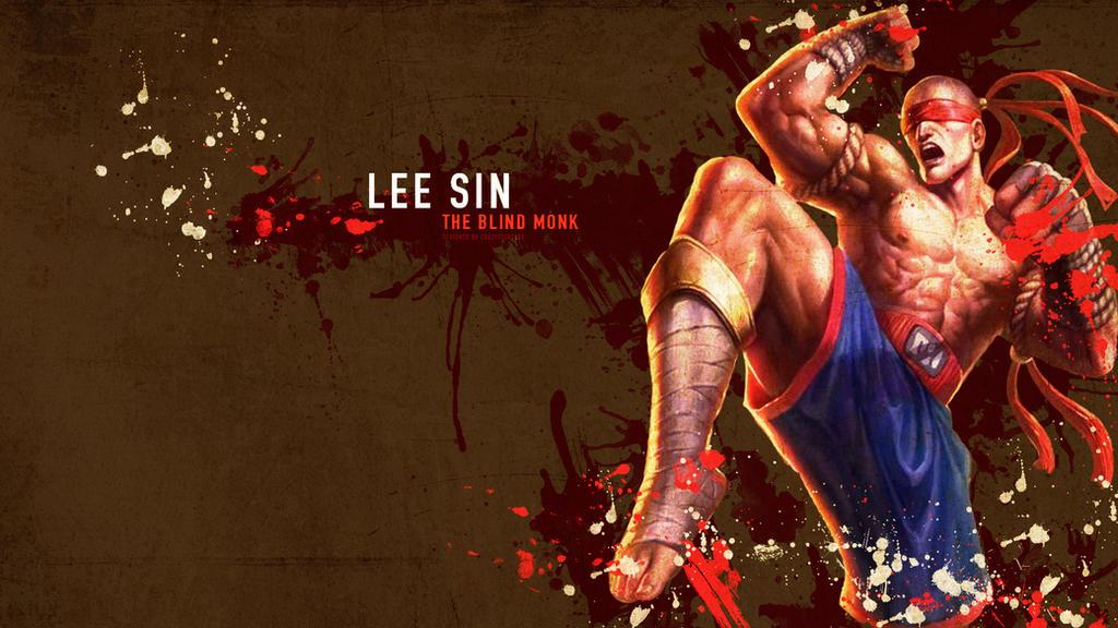 Lee Sin Wallpaper - League of Legends by crazystars101 on ...