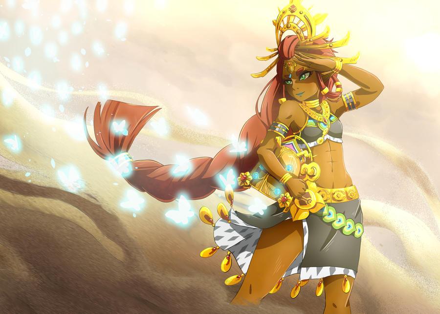 Riju - Zelda Breath of the Wild - by Lerilith
