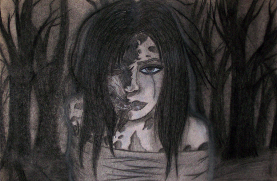 Zombie Girl by NacOfTheStoneAge
