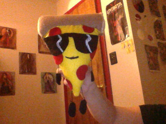 Pizza Steve The Plushie Pizza By Nacofthestoneage On