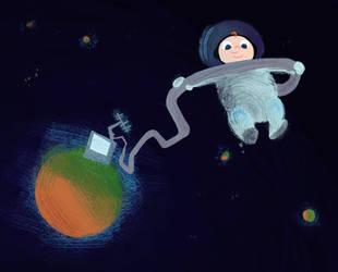 Spacebaby by zimeatworld