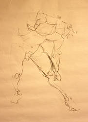 Gesture drawing by zimeatworld