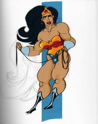Wonder Woman by zimeatworld