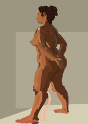 Lit nude by zimeatworld